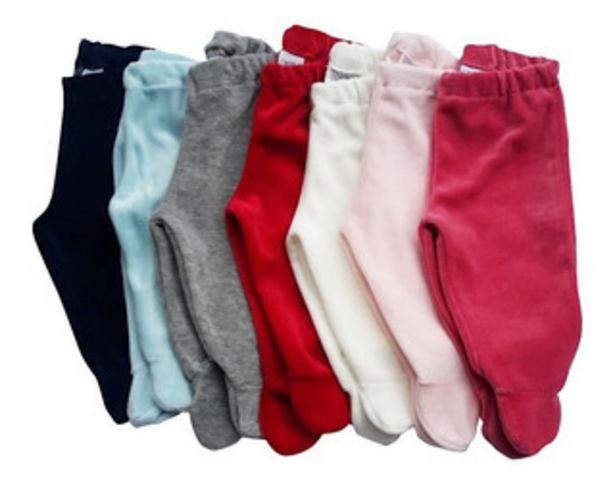 Oferta de Medio Osito Pantalon Plush Lisos Ropa Bebe Varios Colores por $620