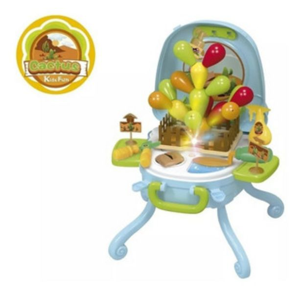 Oferta de Mesita Valija Didáctica Zippy Toys Barbecue Y Jardineria por $1650