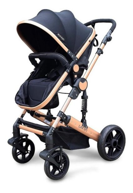 Oferta de Cochecito Mega Baby Cuna Paseo Bebe Lanin Convertible por $15990