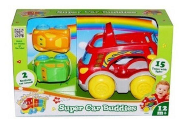 Oferta de Super Car Buddies Camión C 2 Autos Navystar Lionels 9062 por $2990