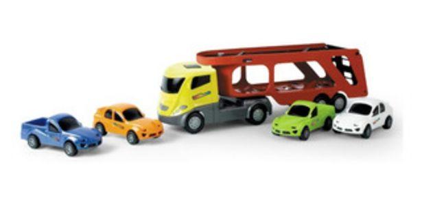 Oferta de Juguete Camion Grua Autito Xplast By Creciendo 2088 por $1390
