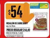 Oferta de Medallon  de carne Barfy  por $54