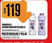 Oferta de Shampoo o acondicionador  Plusbelle 1lt  por $119