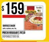 Oferta de Ravioles D'agri 1kg por $159