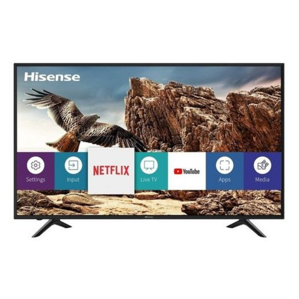 """Oferta de SMART TV HISENSE 43""""... por $37972"""