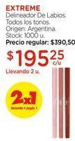 Oferta de Delineador De Labios. por $195,25