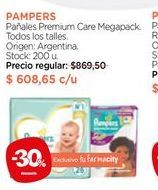 Oferta de Pañales Premium Care Megapack. por $608,65