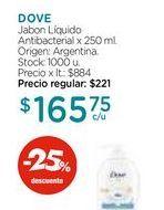Oferta de Jabon Líquido Antibacterial x 250 ml. por $165,75