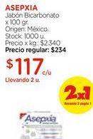 Oferta de Jabón Bicarbonato x 100 gr. por $117