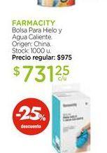 Oferta de Bolsa Para Hielo y Agua Caliente. por $731,25