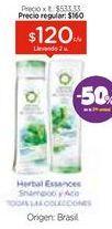 Oferta de Shampoo/Acondicionador X 300 Ml. por $120