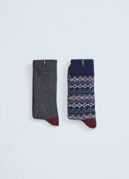 Oferta de WARDLE 2 PACK LONG SOCKS por $2150