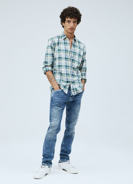 Oferta de BROOKTHORPE TEXTURE PLAID SHIRT por $8550