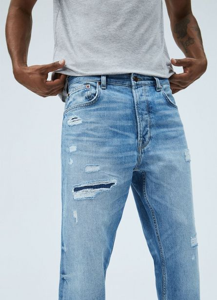 Oferta de MARVIN LOOSE FIT DROPPED WAIST JEANS por $11900