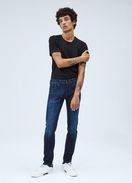 Oferta de HATCH SLIM FIT LOW WAIST JEANS por $10600