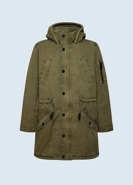 Oferta de DAVE CANVAS FISHTAIL PARKA por $12500
