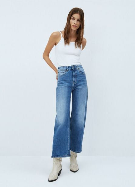 Oferta de LEXA SKY HIGH WIDE FIT HIGH WAIST JEANS por $7050