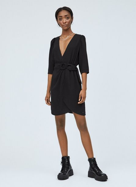 Oferta de LULLU WRAP COLLAR DRESS por $8100