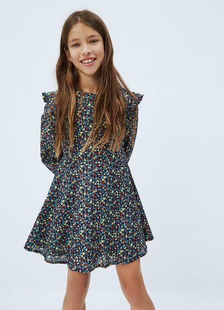 Oferta de EVA FLOWER PRINT SHORT DRESS por $6450