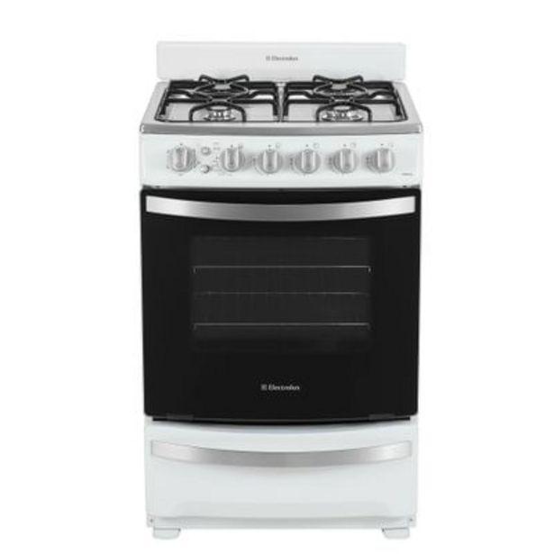 Oferta de Cocina a Gas Electrolux EWMR856 Blanca por $41199
