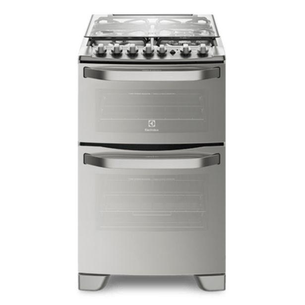 Oferta de Cocina Doble Horno Sup/Eléctrico Inf/Gas Electrolux 56DXQ por $121499