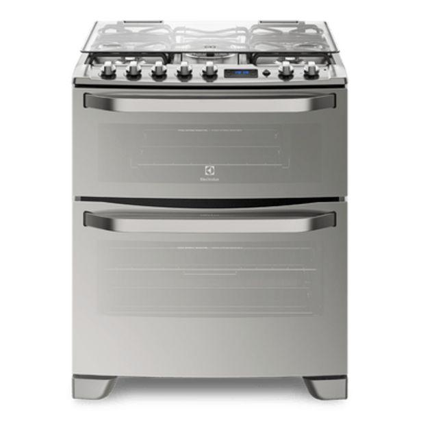 Oferta de Cocina Doble Horno Gas-Gas Electrolux 76dxr por $133399