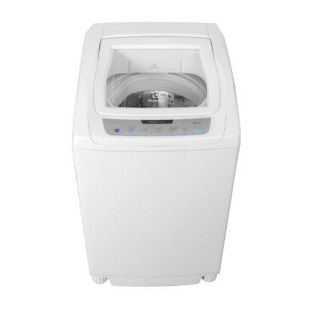 Oferta de Lavarropas Carga Superior Electrolux DigiWash Blanco por $37199
