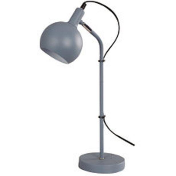 Oferta de Lámpara de Mesa Agadir 1 Luz E14 Azul por $3495