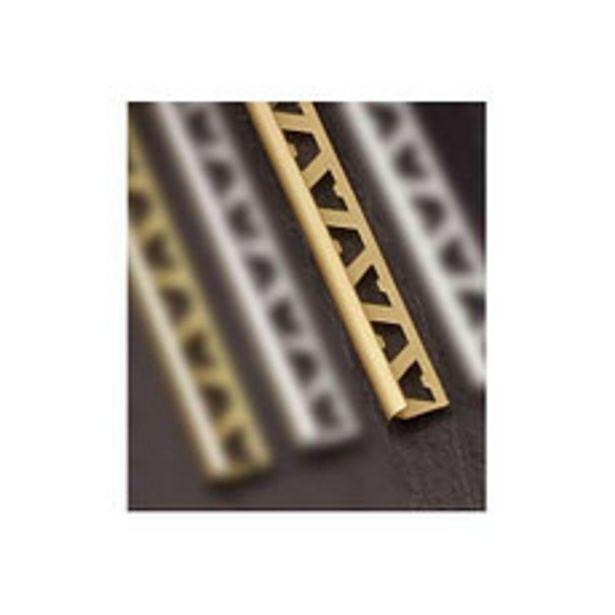 Oferta de Guardacanto Aluminio Oro Mate 9Mm x2.5M por $747,5