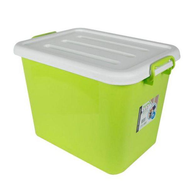 Oferta de Caja Organizadora C/Tapa y Ruedas 65 Lts por $2171,25