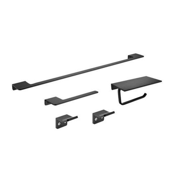 Oferta de Kit Accesorios Aluminio 5 Piezas Pireo por $8500