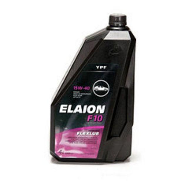 Oferta de Lubricante Elaion F10 Mineral 15W40 4 Lt por $2490