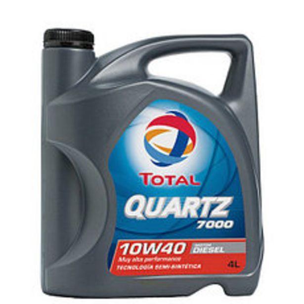 Oferta de Lubricante Quartz Dies Total 7000 10W40 4 Lts por $3112