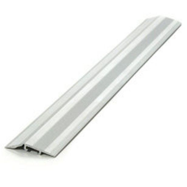 Oferta de Desnivel Quick Aluminio Cromo Mate 38Mm x100Mts por $735