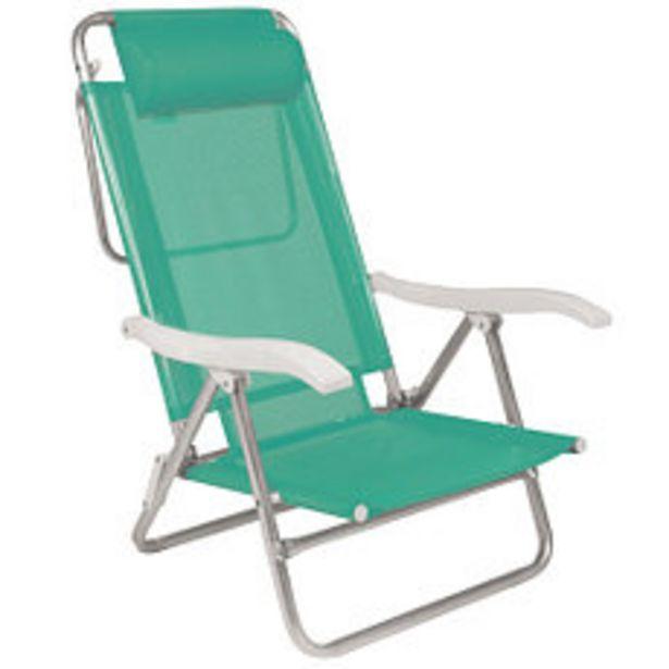 Oferta de Silla Aluminio Sol Summer Con Almohadón por $7990