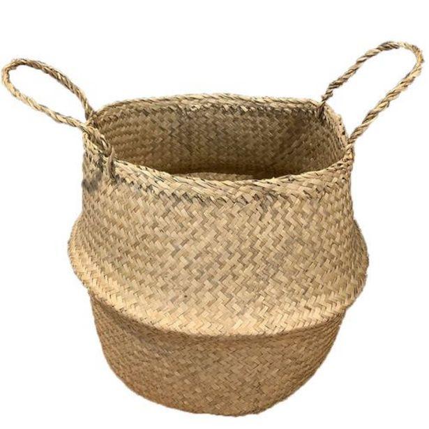 Oferta de Canasto Deco Seagrass #40X36CM por $3995
