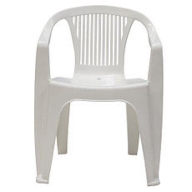 Oferta de Sillón Plastico Blanco Belen por $299,4