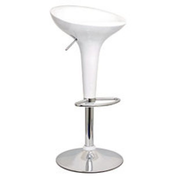 Oferta de Banqueta bar Verona 44x39x88 Blanco por $6590