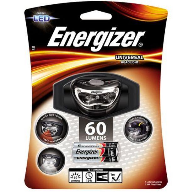 Oferta de Linterna Manos Libres 3 Leds Energizer por $1305