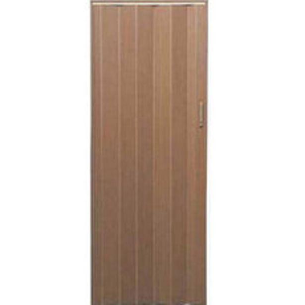 Oferta de Puerta 80x200 Cm. Plegadiza Pvc 6 Mm. Cerezo por $2495