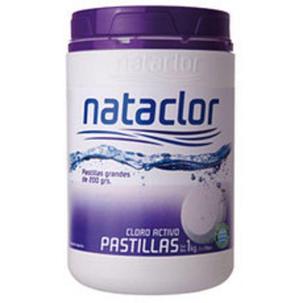 Oferta de Cloro Pastillas Grandes Dl X1Kg Nataclor por $1581