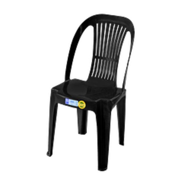 Oferta de Silla Plástica Gala Negra por $2097