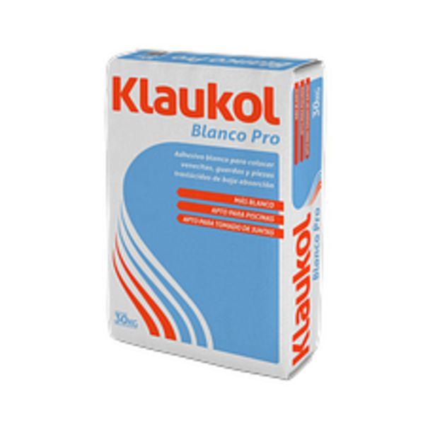 Oferta de Adhesivo Klaukol Blanco Pro 30Kg por $2699
