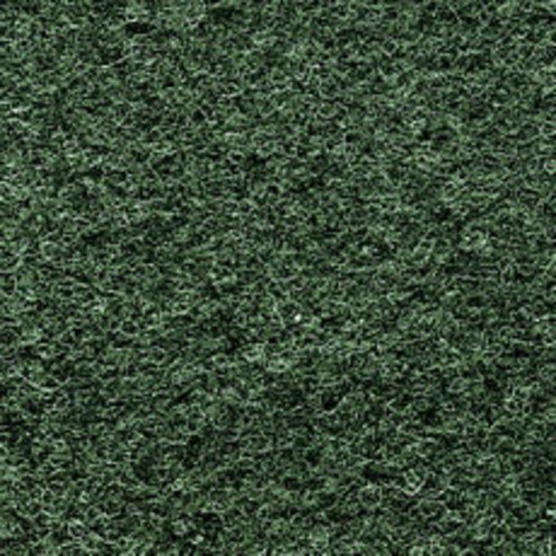 Oferta de Alfombra Punzonada Verde Musgo 1 MTs por $349