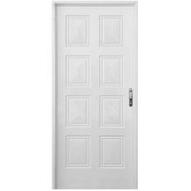 Oferta de Puerta 80x200 Cm. Chapa Simple Reforzado Izquierda por $10695