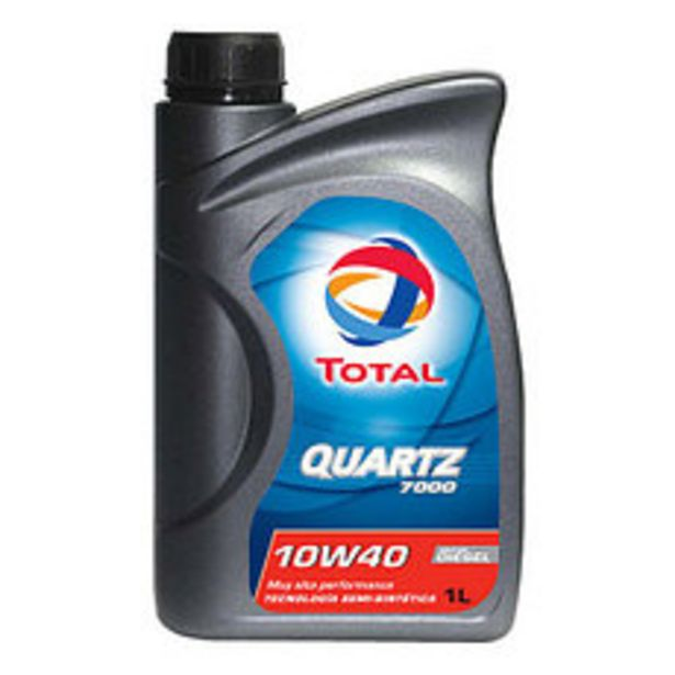 Oferta de Lubricante Quartz Dies Total 7000 10W40 1 Lt por $1290