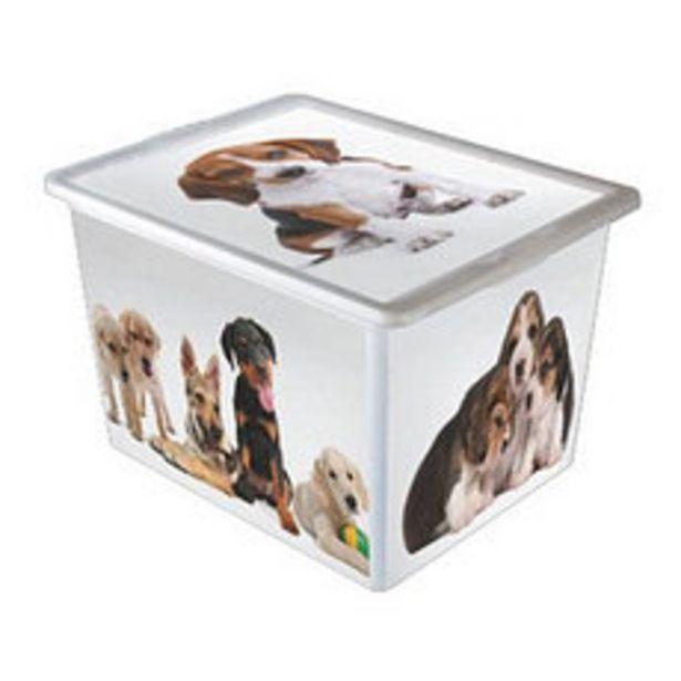 Oferta de Caja Plástica Perros 28 Lts por $971,25