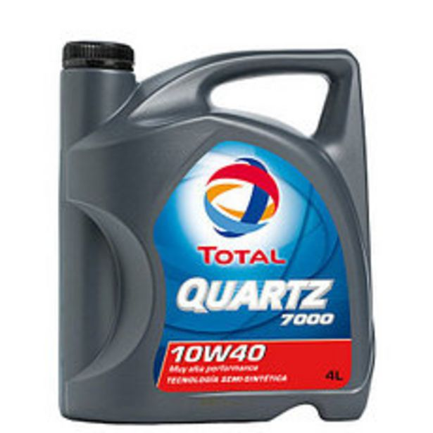 Oferta de Lubricante Quartz Total 7000 10W40 4 Lts por $3630