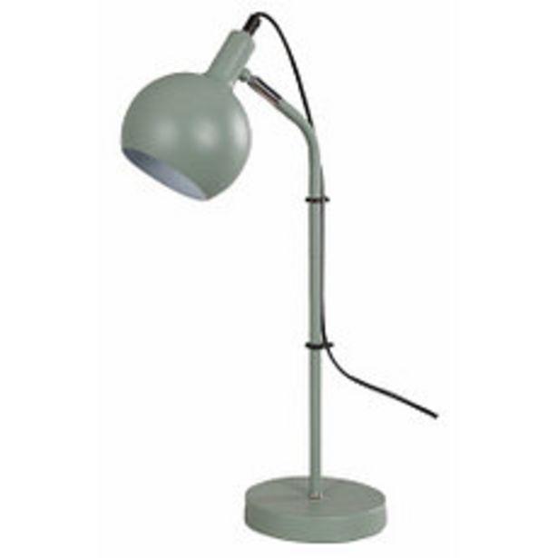Oferta de Lámpara de Mesa Agadir 1 Luz E14 Verde por $4295