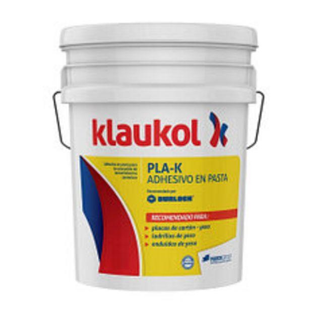 Oferta de Adhesivo Klaukol Pla-k Pasta 7 Kg. por $1900